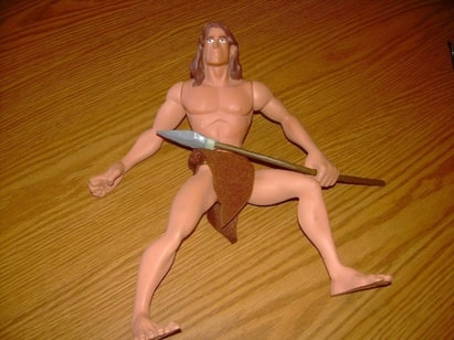 Disney's Tarzan Jungle Hero Action Figure (Applause) is in your collection!
