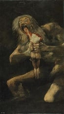 Francisco Goya: Saturn Devouring His Son
