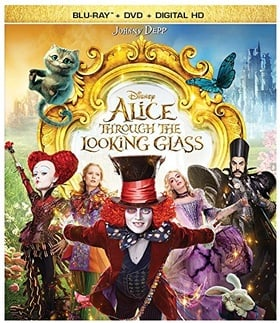 Alice Through the Looking Glass (BD + DVD + Digital HD)