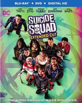 Suicide Squad (+ DVD and Digital HD) (Extended Cut)