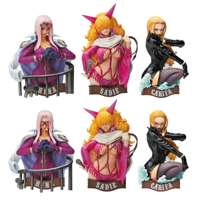 One Piece: H.O.O.K.2 PVC Figure Magnet Key Hooks (6 Blind Boxes)