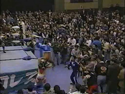 Great Sasuke, Tiger Mask IV, & Shiryu vs. TAKA Michinoku, Gran Naniwa, & Super Delfin (3/16/96)