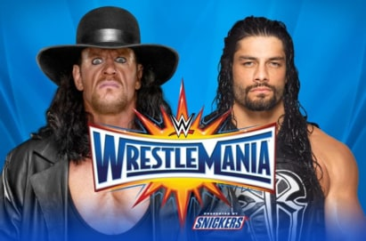 The Undertaker vs. Roman Reigns (WWE, Wrestlemania 33)