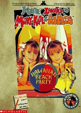 You're Invited to Mary-Kate  Ashley's Hawaiian Beach Party