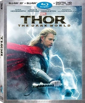 Thor: The Dark World (Blu-ray 3D + Blu-ray + Digital HD)