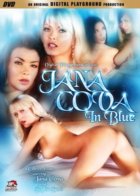 Jana Cova in Blue