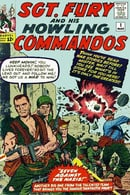 Sgt. Fury and the Howling Commandos #1 Vintage 1962 Complete Marvel Comics