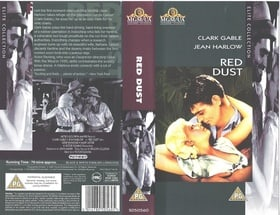 Red Dust  [VHS] [1932]