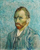 Vincent van Gogh: Self-Portrait, September 1889