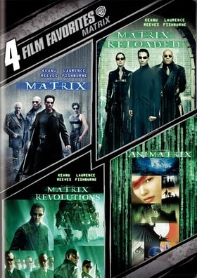 4 Film Favorites: The Matrix Collection (The Matrix / The Matrix Reloaded / The Matrix Revolutions /