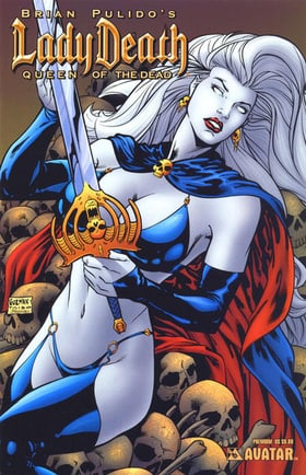 Brian Pulido's Lady Death: Queen of the Dead