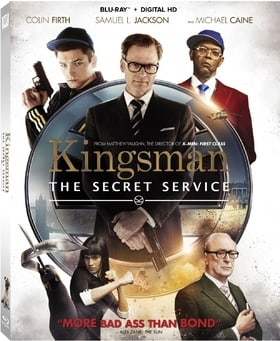 Kingsman: The Secret Service (Blu-ray + Digital HD)