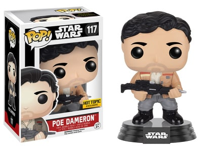 Star Wars Funko Pop!: Poe Dameron (Hot Topic Exclusive)