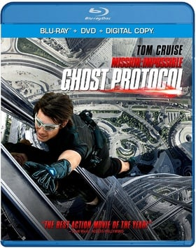 Mission: Impossible - Ghost Protocol (Blu-ray + DVD + Digital Copy)