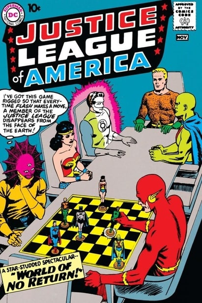 Justice League of America (1960 1st Series) #1-261 DC 1960 - 1987