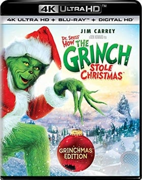 Dr. Seuss' How the Grinch Stole Christmas 4K Blu-ray