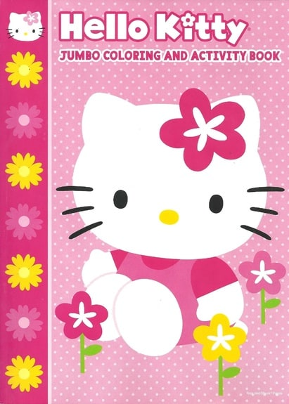 Hello Kitty: Jumbo Coloring and Activity Book
