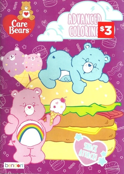 Care Bears: Snack Attack! Advanced Coloring Book