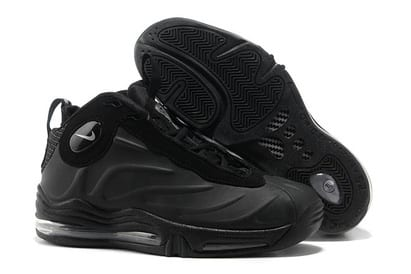get cheap 86f9a c9911 Total Air Foamposite Max Black Anthracite Nike Basketball Shoes