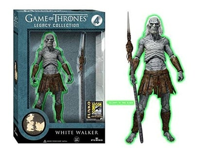 Game of Thrones Legacy Collection: White Walker Glow in the Dark (2014 SDCC Exclusive)